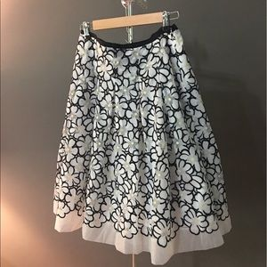 Talbots NWT A-Line Skirt Floral